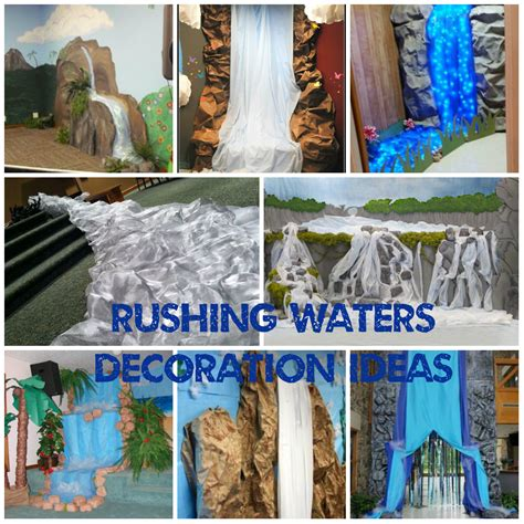Decorating Ideas For Vbs 2015 Rushing Waters Decoration Ideas Vbs 2015