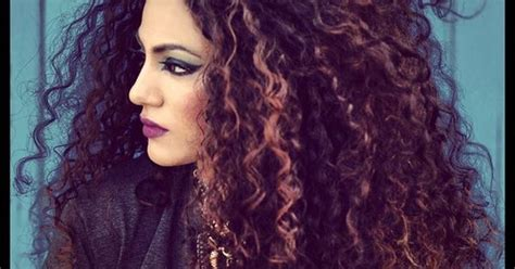 curl pattern messed up annie khalid hair pinterest awesome curly hair and love