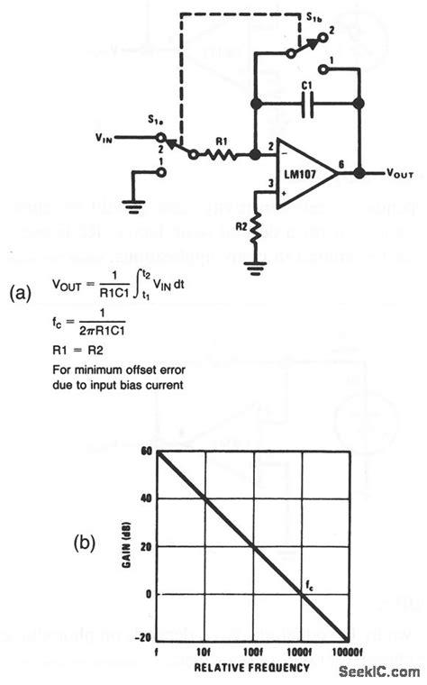 integrator circuit using op 741 circuit diagram of integrator 28 images integrator circuit using 741 ic extending 555 timer