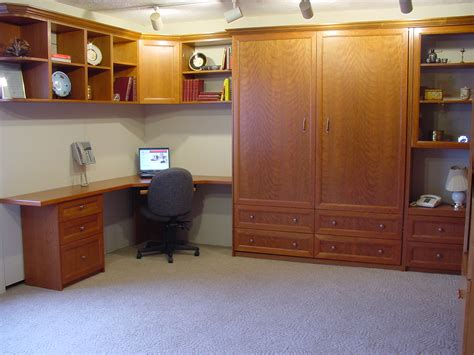 l shaped desk with bookcase l shaped brown lacquer oak wood murphy bed with office