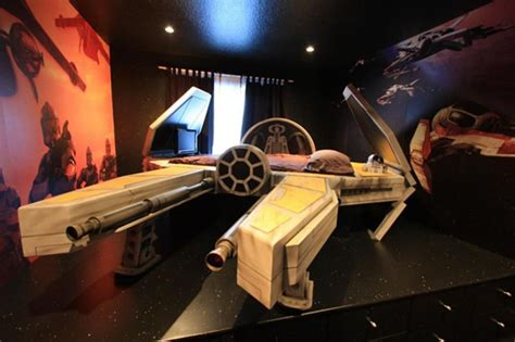 starwars bed the star wars furniture you ve been looking for neatorama