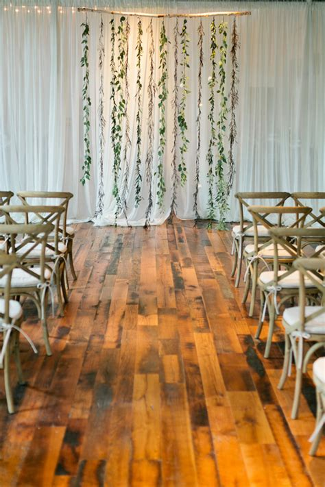 Easy Wedding Backdrop by Create A Simple Floral Backdrop To Transform Your Wedding