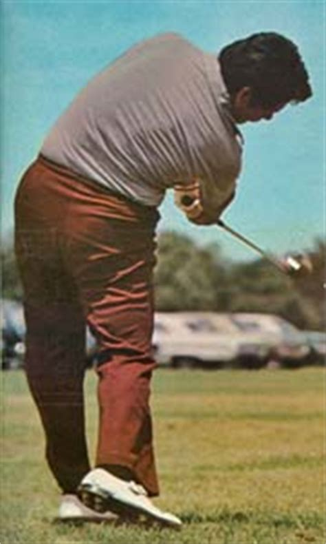 lee trevino swing the right elbow and forearm in the golf swing down under