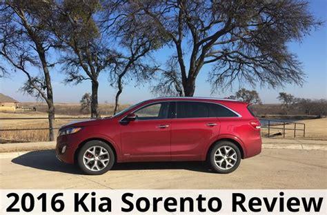 Kia Sorento Reviews 2016 2016 Kia Sorento Crossover Suv Review