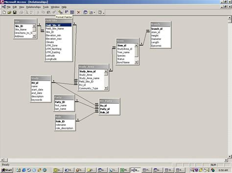 access relationship diagram mysql what tool can i use to build a nicely formatted