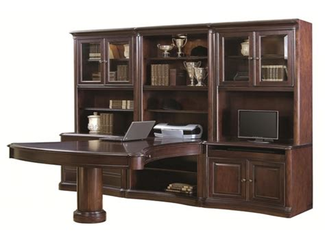 computer desk wall units aspen home office furniture