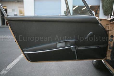 Porsche 911 Panels by Porsche 911 1969 1971 Door Panel Pair K H European