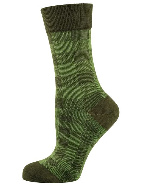 patterned socks elbeo alena cotton patterned socks