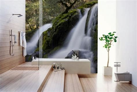 bathroom wall murals 10 nature inspired bathroom designs