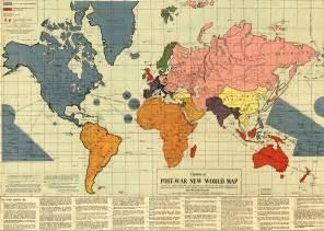 Post World War 1 Map by Adil S World Post War Ii New World Map