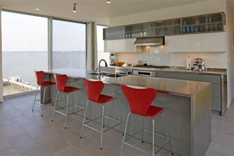 stainless kitchen island stainless steel countertops always the best choice in
