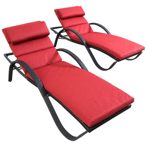 Rst Brands Deco Chaise Lounge 4 Patio Furniture Rst Brands Deco Patio Chaise Lounge With Cantina