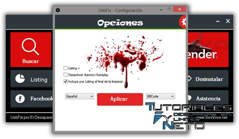 tutorial deluxefx usbfix v7 183 elimina malware de unidades usb