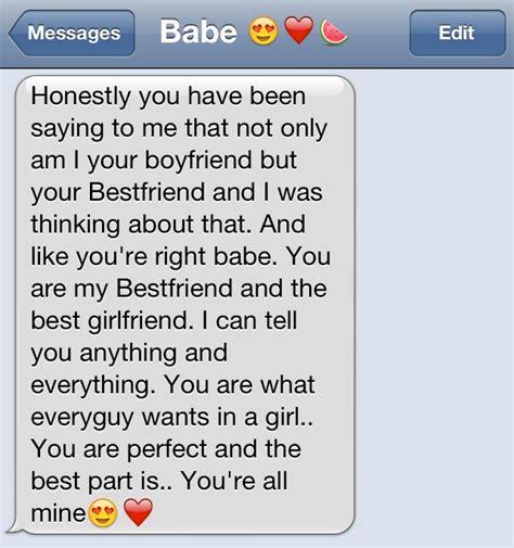 cute texts between boyfriend and girlfriend boyfriend
