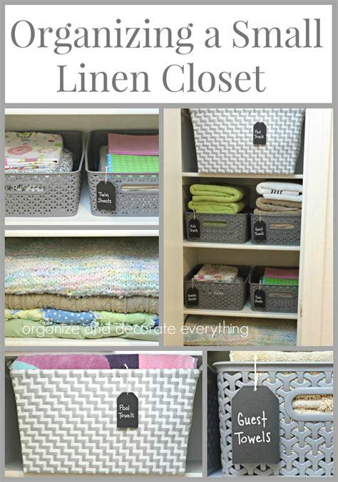 organizing a small linen closet organizing a small linen closet organize and decorate