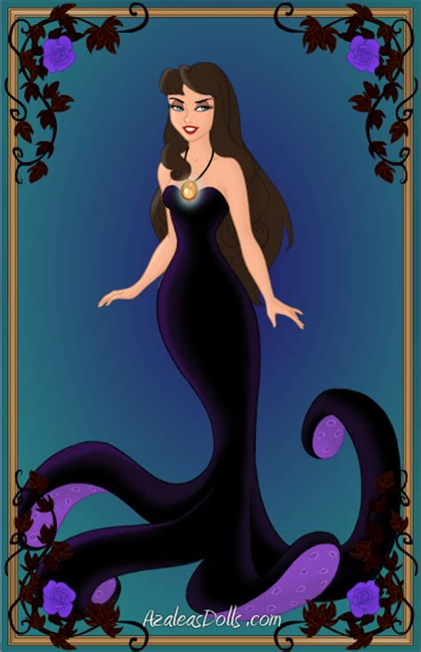 the little mermaid ursula vanessa deviantart vanessa the sea witch by thomasanime on deviantart