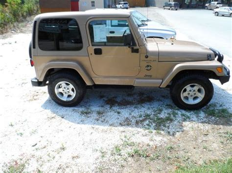 2000 Jeep Wrangler Top Sell Used 2000 Jeep Wrangler Sport Utility 2 Door 4