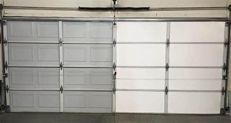 garage door insulation kit foam panels vs rolled