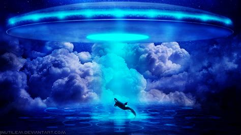 ufo background 1 abduction hd wallpapers backgrounds wallpaper abyss