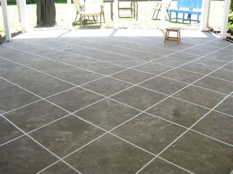 Diy Stained Concrete Patio by Naptime Diy Patio Concrete Stain Front Porch