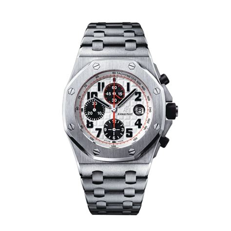 Audemars Piguet Royal Oak Offshore Autometic gentlemen s audemars piguet royal oak offshore panda stainless steel 26170st oo 1000st 01
