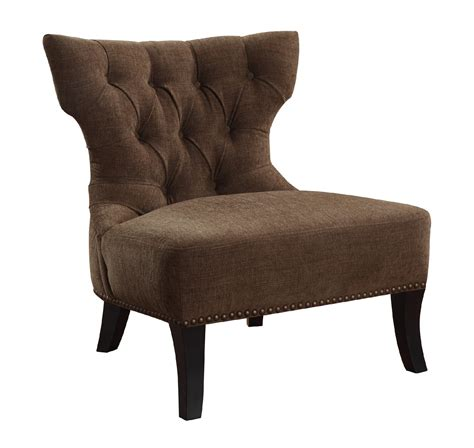 monarch specialties accent chair brown swirl fabric