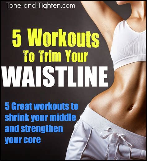 5 great workouts to trim your waistline weekly workout
