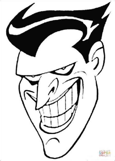 joker face coloring pages coloriage t 234 te du joker coloriages 224 imprimer gratuits