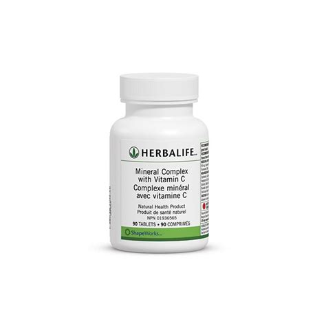Vitamin C Herbalife Herbalife S Mineral Complex With Vitamin C