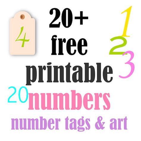 printable tags with numbers 1000 images about stencils numbers on pinterest
