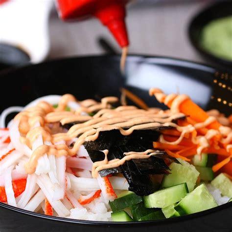 sriracha mayo sushi sushi bowls with sriracha mayo is an easy way to enjoy a
