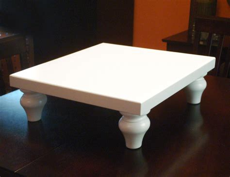 wedding cake stand square 16 inch white by kennethdante on
