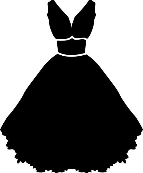 Stylish Strapless Dress With Belt And Petticoat Svg Png