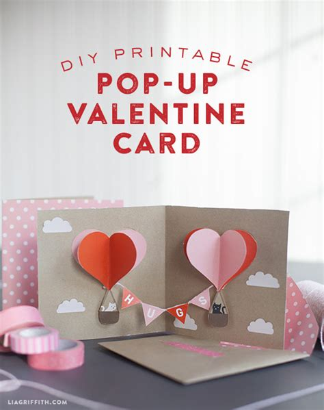 make your own valentines cards make your own diy pop up card today diy