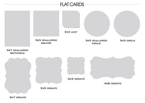card shapes templates e lambert photography