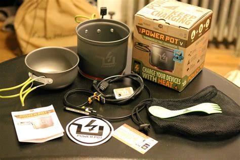 Powerpot V Thermoelectric Generator Pot the powerpot v review the gadgeteer