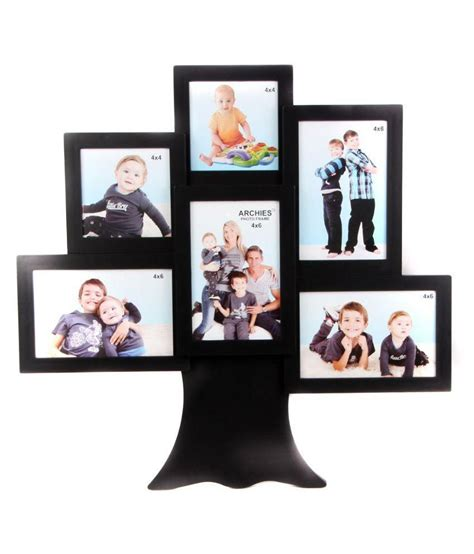 college photo frame archies collage frames plastic wall hanging black collage