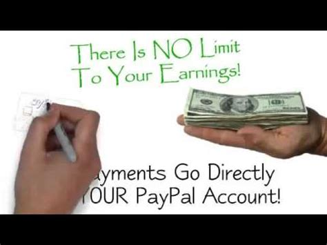 How To Make Money Instantly Online - make 250 a day instant paypal payments how to make money online from home youtube
