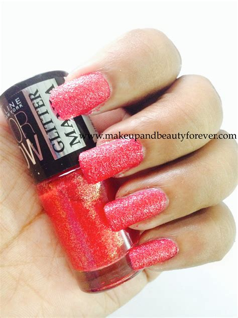 Glitter Eyeshadow Maybelline Maybelline Glitter Mania Red Carpet Makeup And