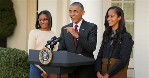 obama has aged a lot since his first white house farewell to the first daughters malia and sasha obama s