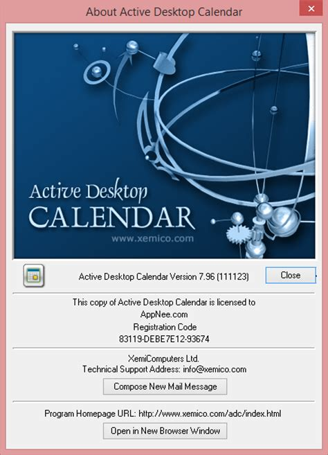 Active Desktop Calendar Active Desktop Calendar Classic And Powerful Desktop