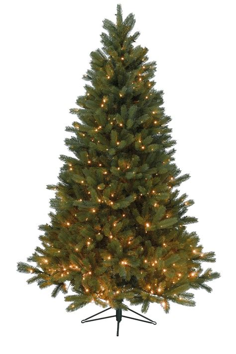 prelit led balsam fir 6ft artificial christmas tree