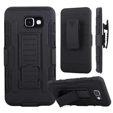 Samsung Galaxy A3 Armor Hybrid Fundas 3in1 Belt Clip Stand armor impact for coque samsung galaxy a5 2016 cover a510 for coque samsung a3 a5 2017