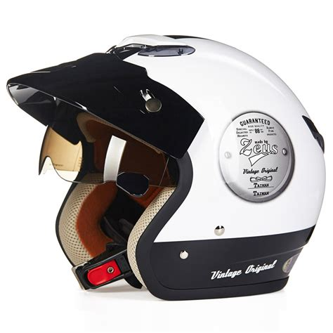retro motocross helmet retro cruiser motorcycle helmet chopper 3 4 open face