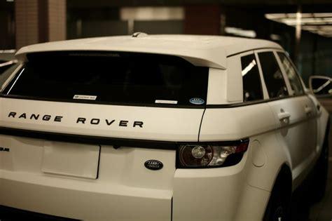 matte white range white is still my fav colour rover evoque matte white