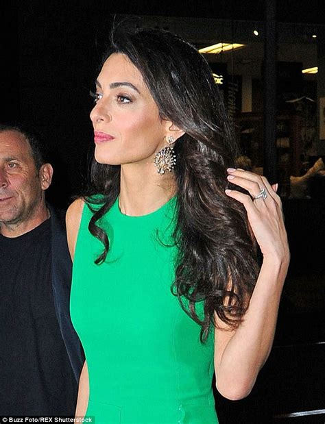 is amal clooney hair one length is amal clooney hair one length amal clooney hair and