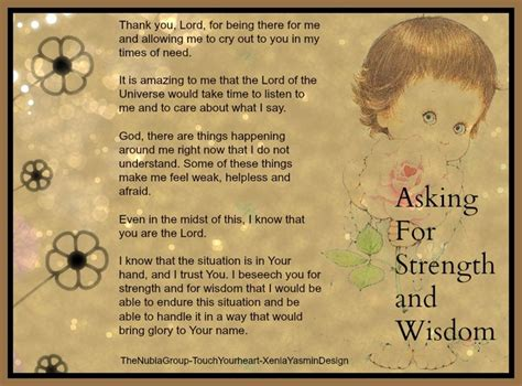 praying for strength and comfort prayer for strength and wisdom strength in god pinterest
