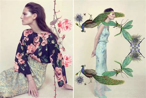 fashion illustration editorial beautiful editorials botanical gurlinterrupted