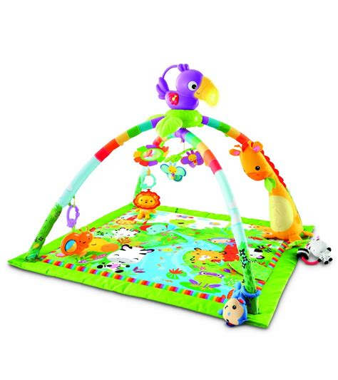 fisher price music and lights deluxe gym rainforest fisher price rainforest music lights deluxe gym