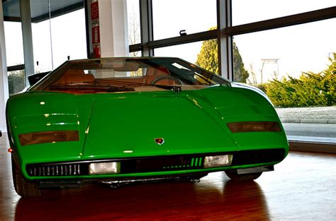 First Lamborghini Countach by The First Lamborghini Countach Ever Made Flickr Photo